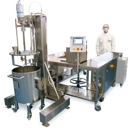 Machine fabrication cosmetique